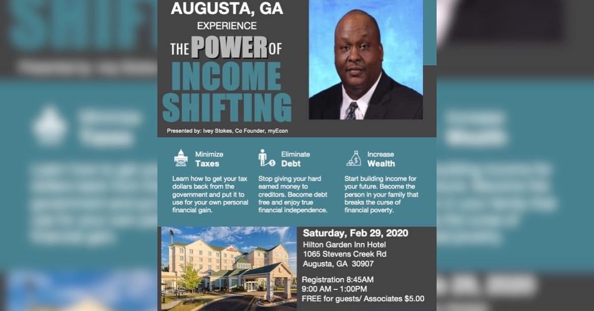 Augusta The Power Of Income Shifting 29 Feb 2020