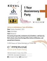 Coppervine 1 Year Anniversary Party