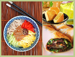 Taiwanese Homestyle Cooking - Cold Chicken Noodles,...