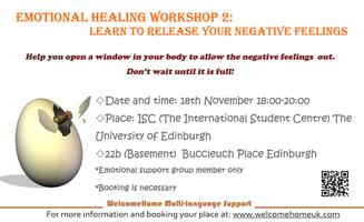 Learn to release your negative feelings-Emotional...