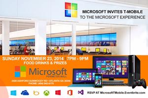 Microsoft For T Mobile Event ( The Microsoft...