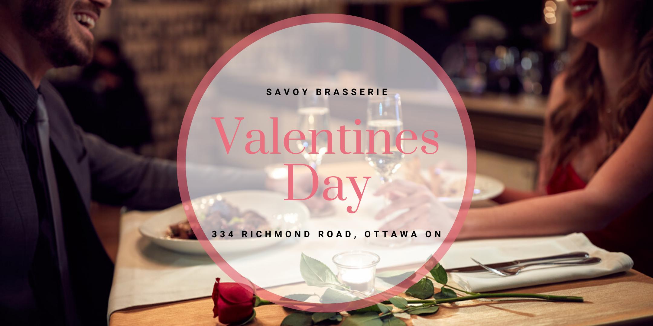 Valentine's Day at Savoy Brasserie