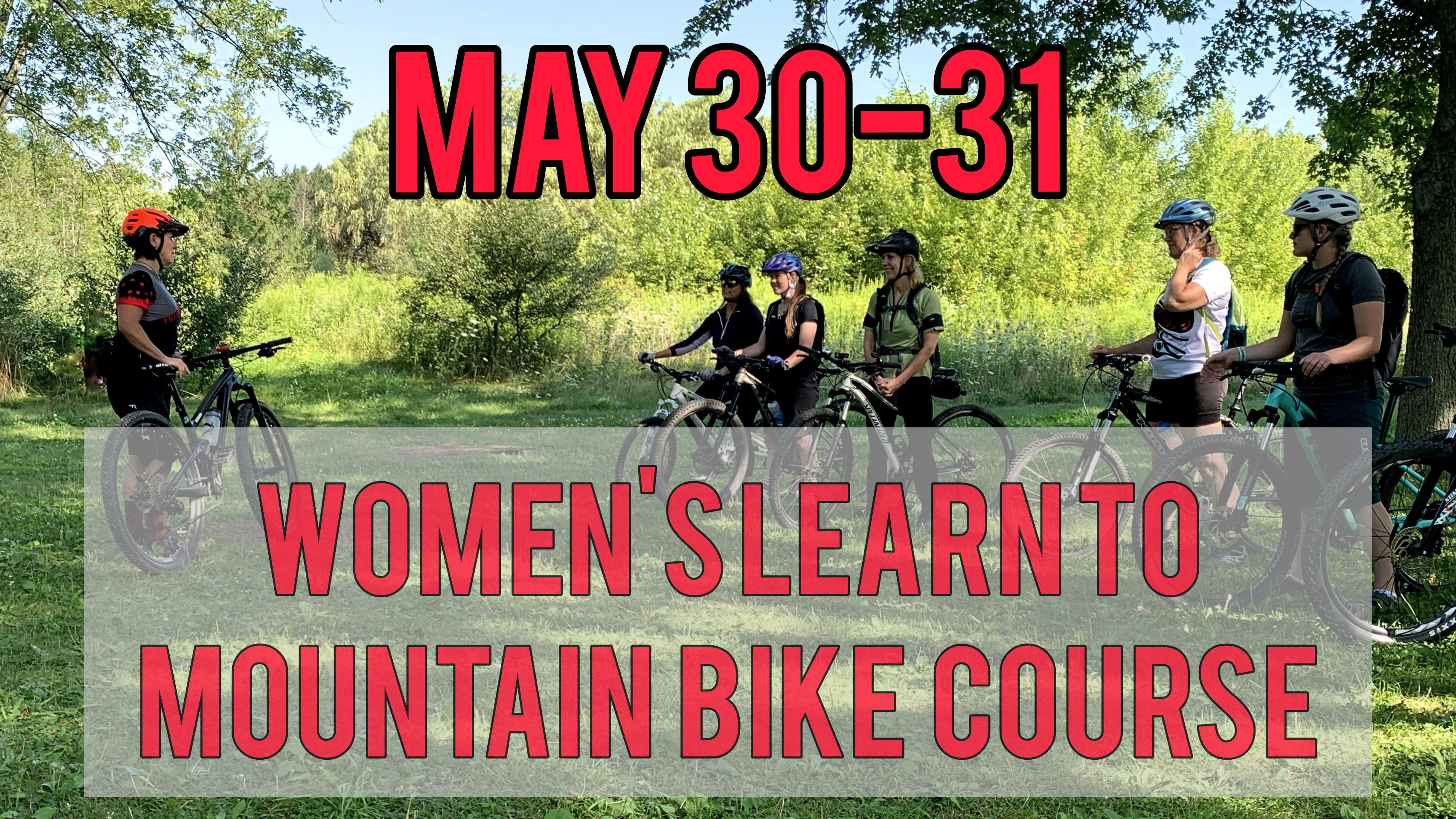 2020 Women's Learn To Mountain Bike Course