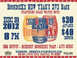 BoondoxXx New Year's Eve Bash f/ Craig Wayne Boyd