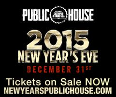 New Years Eve 2015 at Public House By Green Curtain...