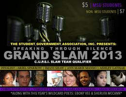 Student Government Association Presents: GRAND SLAM 2013