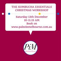 The Kombucha Essentials Christmas Workshop