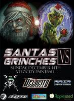 Santa's vs Grinches