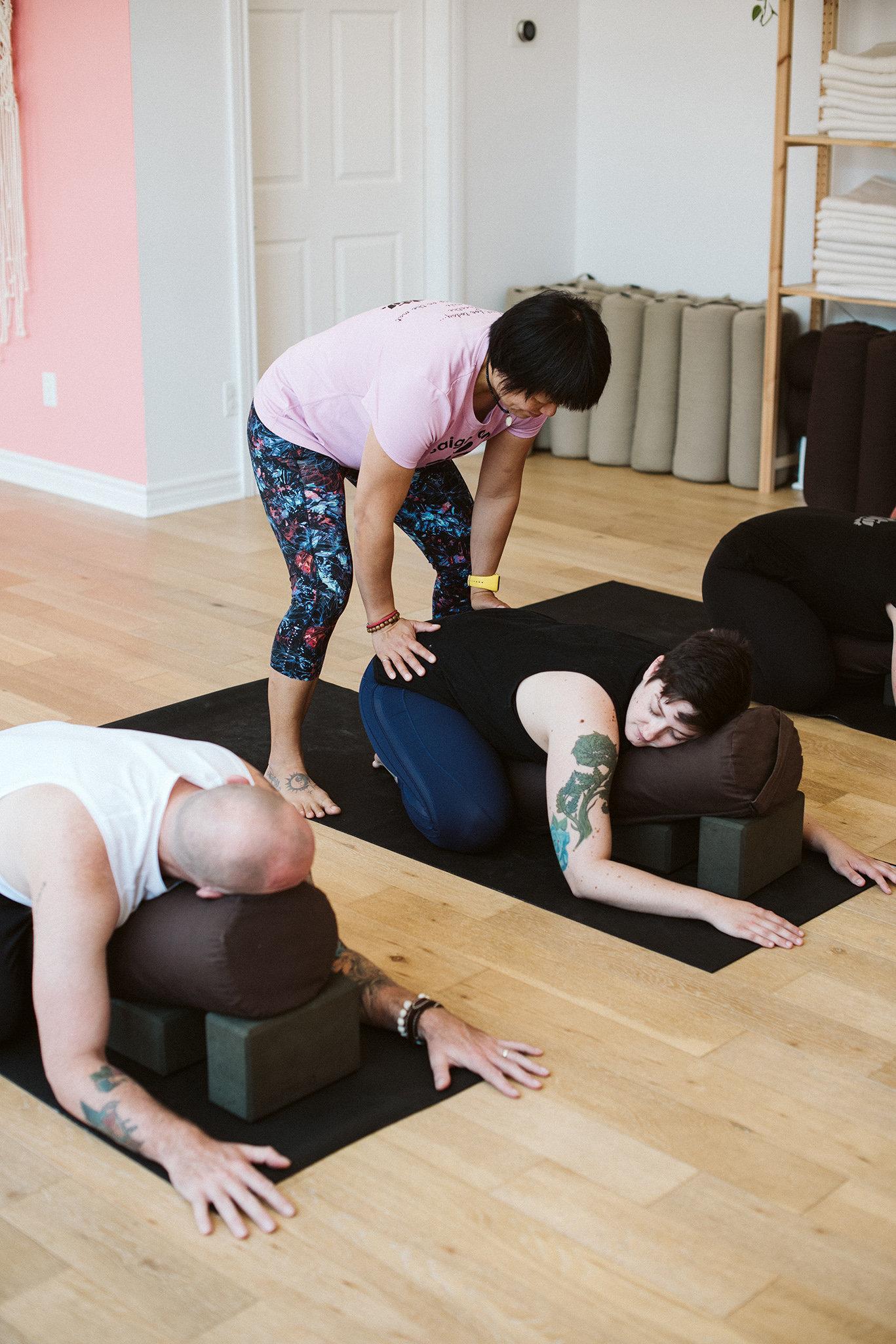 Restorative Yoga + Reiki