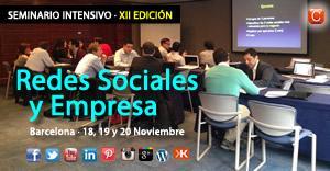 Seminario Redes Sociales y Empresa   Barcelona - 12...
