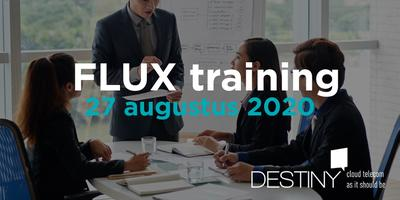 FLUX training 27 augustus 2020