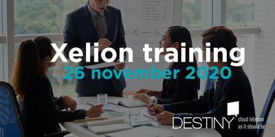 Xelion training 26 november 2020