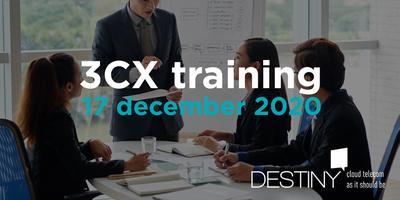 3CX Intermediate-Advanced training 17 december 2020