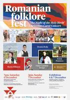 Romanian Folklore Fest' Sunday 7th December - 'The...