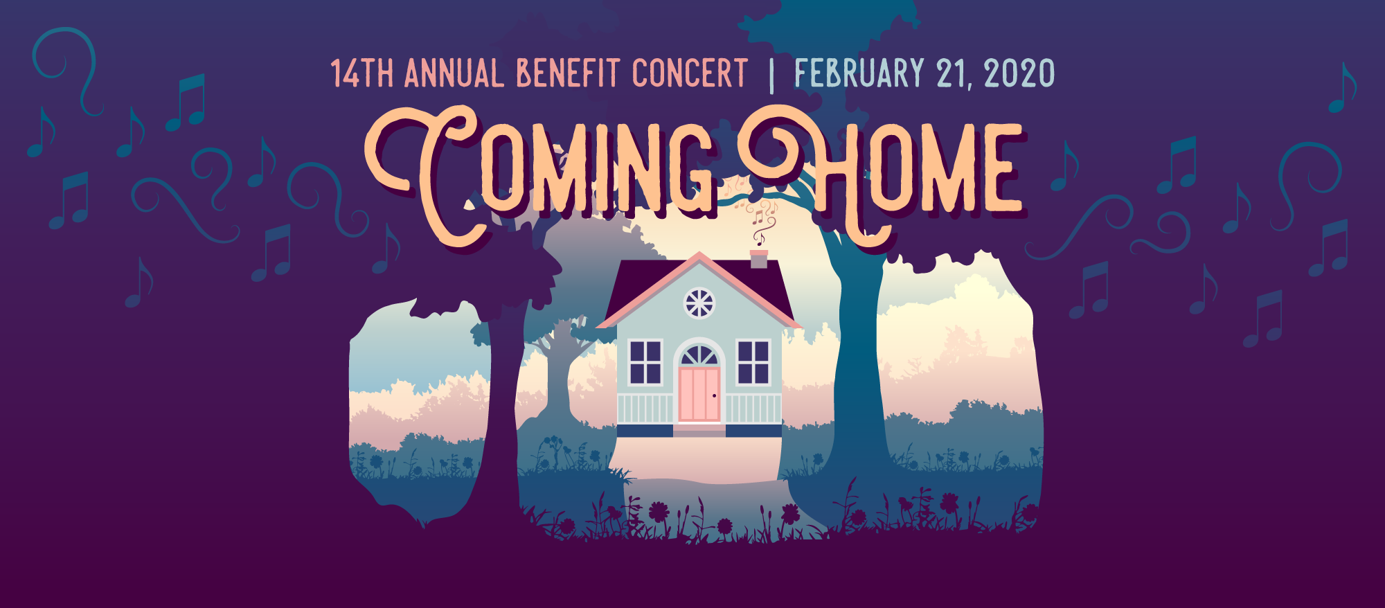 Coming Home, our 14th Annual Benefit Concert