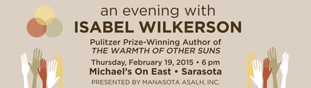 MANASOTA-ASALH PRESENTS AN EVENING WITH ISABEL...