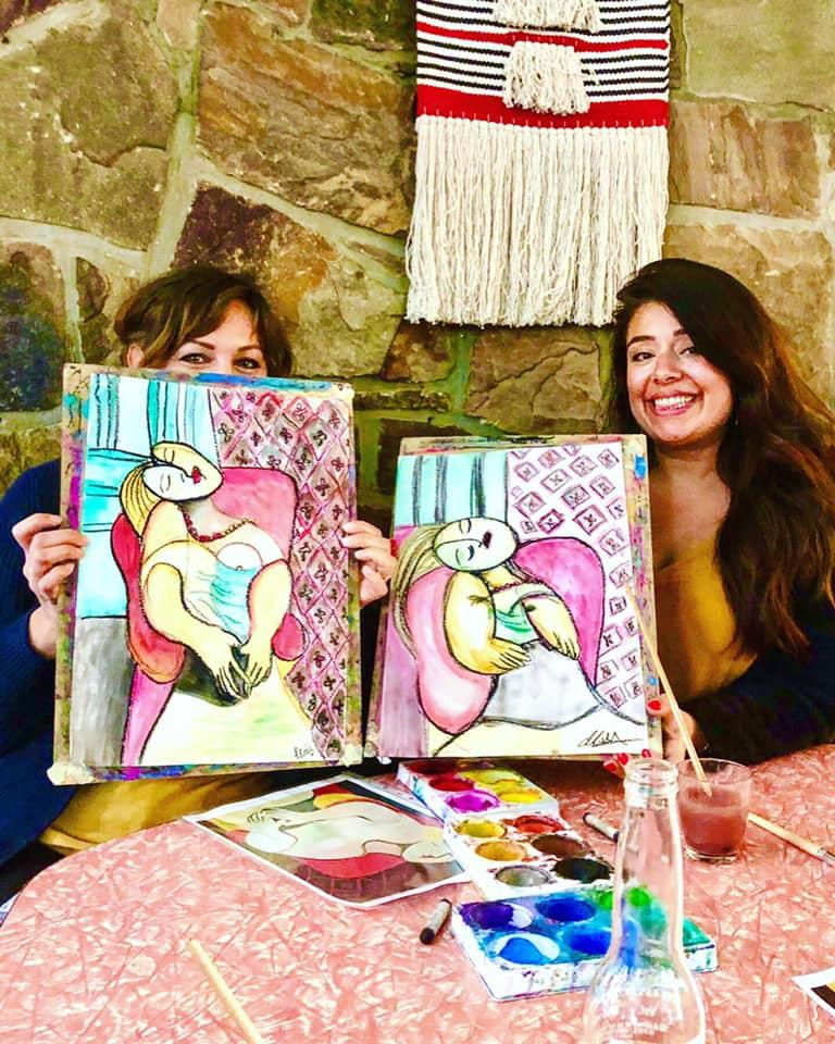ART+WINE+BEACH (monthly sip and paint event)