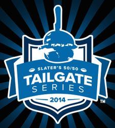 Slater's 50/50 Tailgate Series Event logo