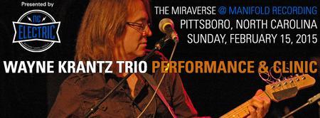 Wayne Krantz Trio Performance / Wayne Krantz Guitar...