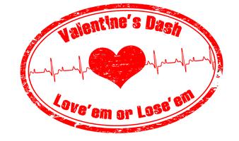 Valentine's Dash Love'em or Lose'em 5k