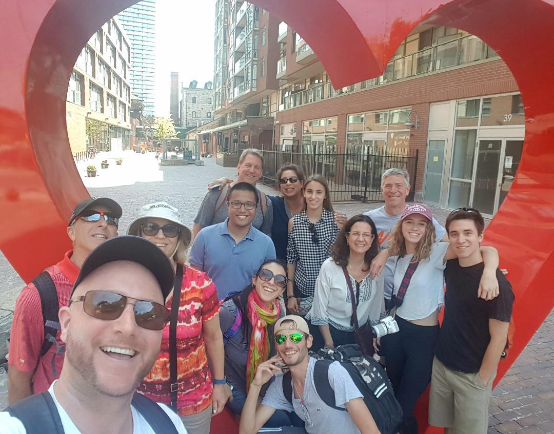 Toronto History - Old Town & Distillery area tour!