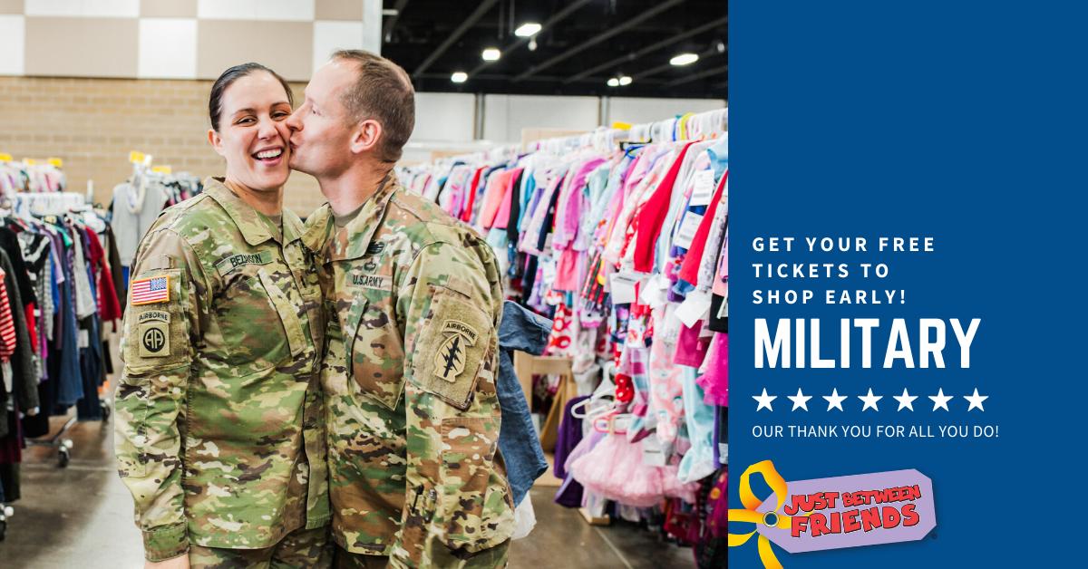 Military/1st Responders Presale Pass (FREE) - JBF Arlington - Spring 2020