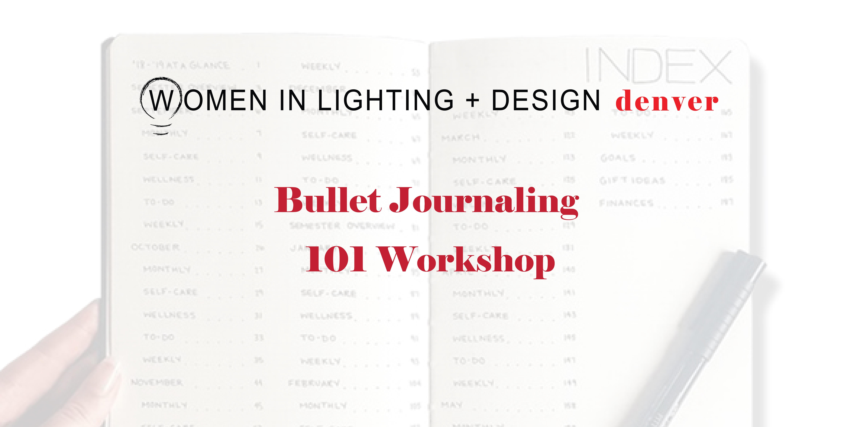 WILD 2020 Winter Event: Bullet Journaling 101 Workshop