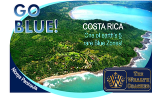 GO BLUE! Invest in rare BLUE ZONE real estate: COSTA...