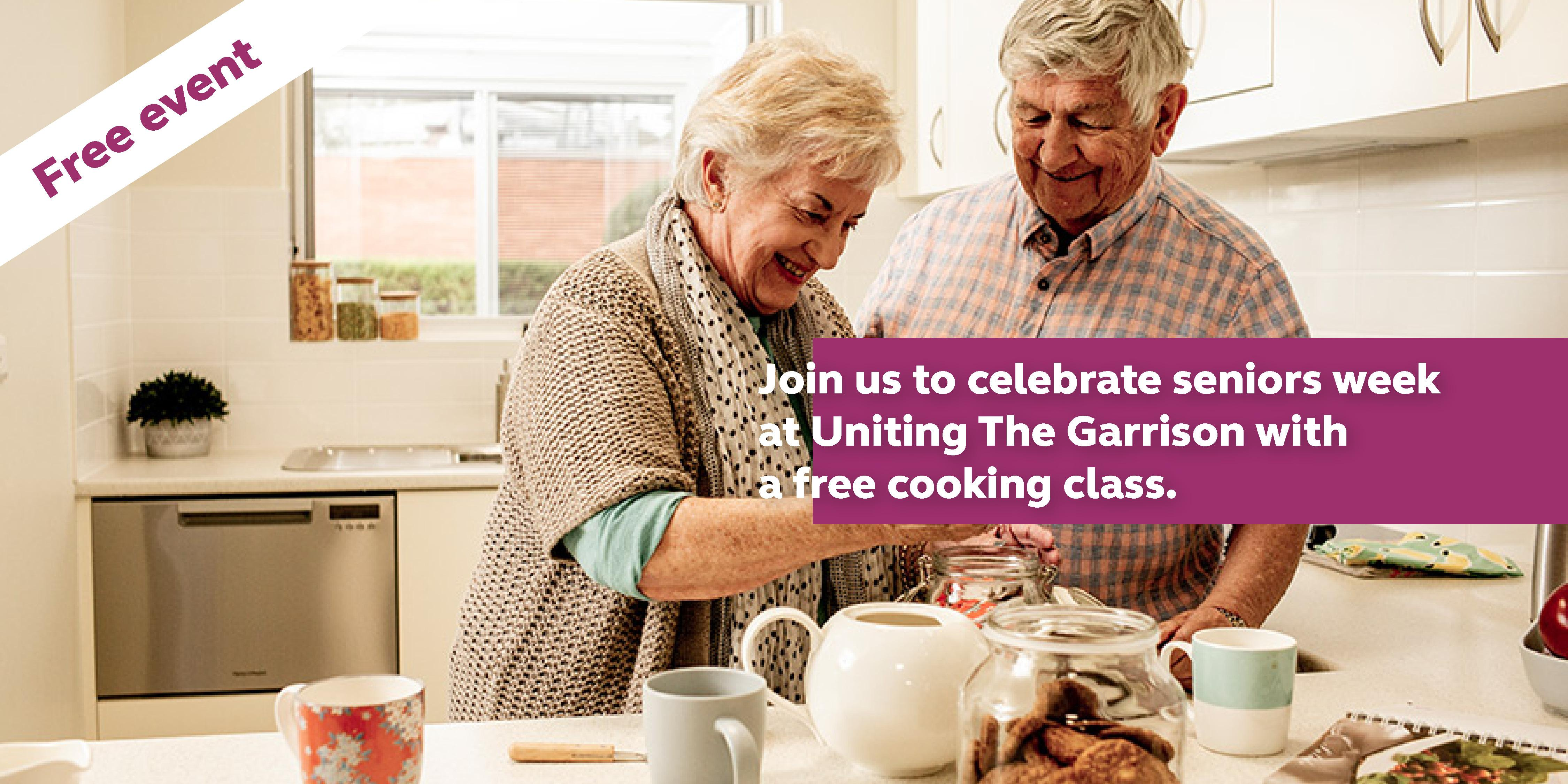 Join us for NSW Seniors Festival fun at Uniting The Garrison.