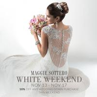 The Wedding Dress White Weekend Event