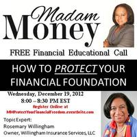 """Madam Money's """"How to Protect Your Financial..."""
