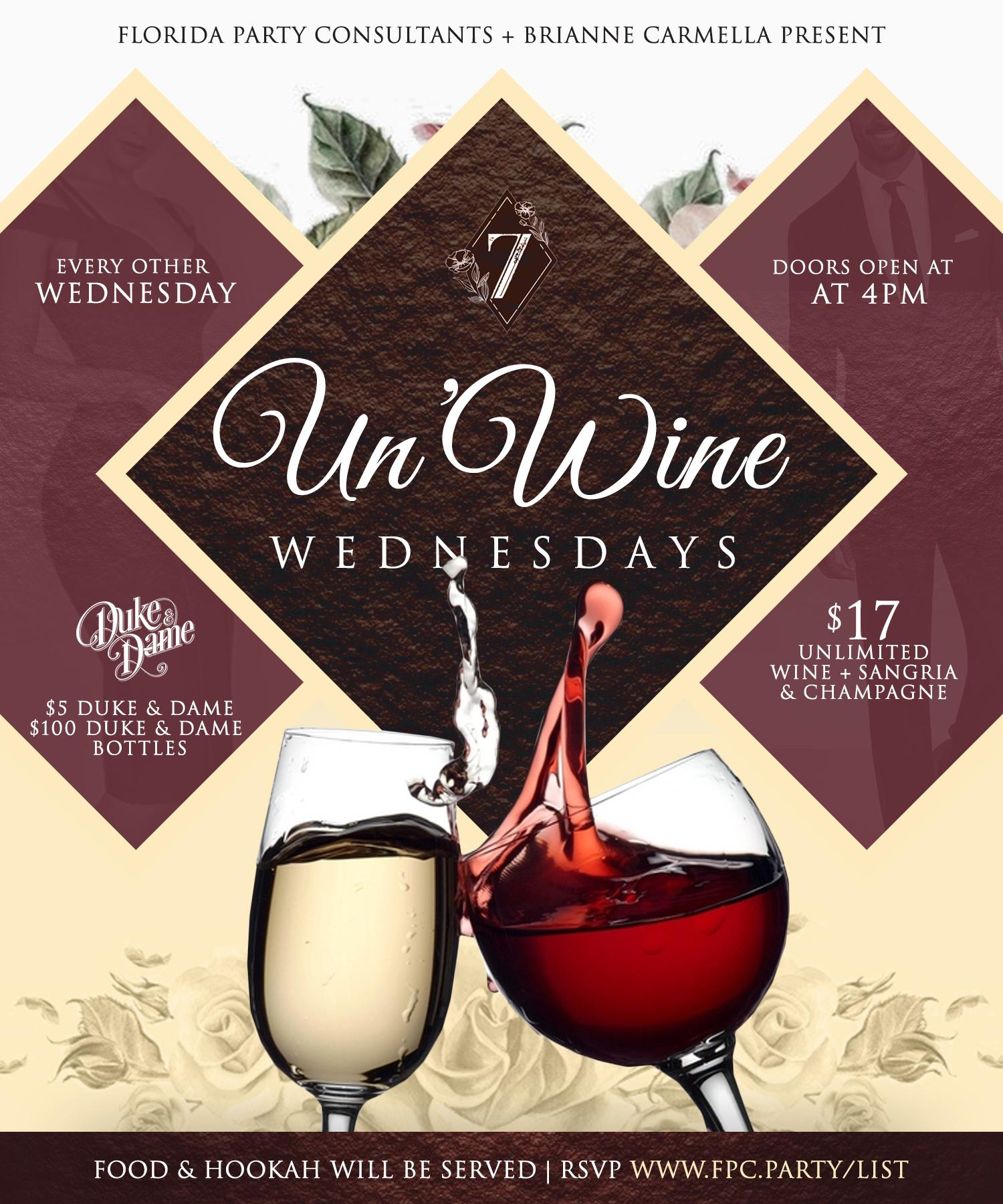 UN'Wine Wednesdays