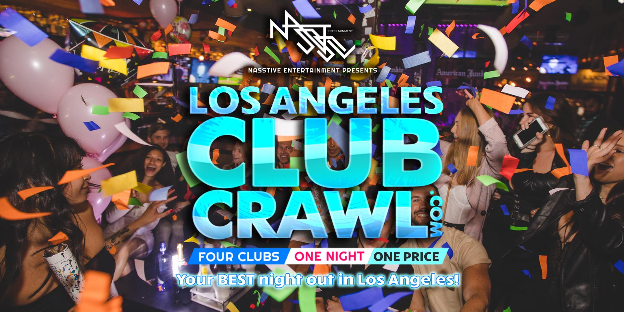 Los Angeles Club Crawl