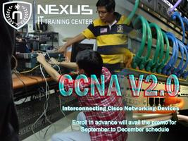 5-day CCNA v2.0 BootCamp - Ortigas Center...