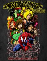 LoneStar Comic Con - San Antonio Texas