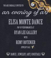 An Evening of Art: Elisa Monte Dance, Ryan Lee...