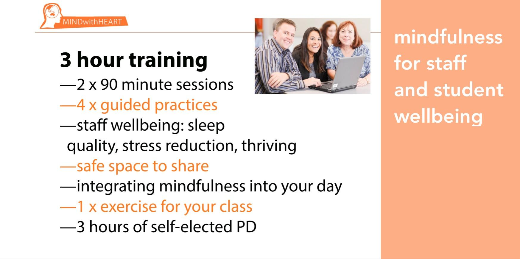 Mindfulness for Staff and Student Wellbeing | 3 Hour Training