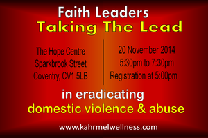 FAITH LEADERS CEREMONY: Tackling DVA In Faith...