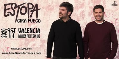 ESTOPA presenta GIRA FUEGO en Valencia (3ªFecha)