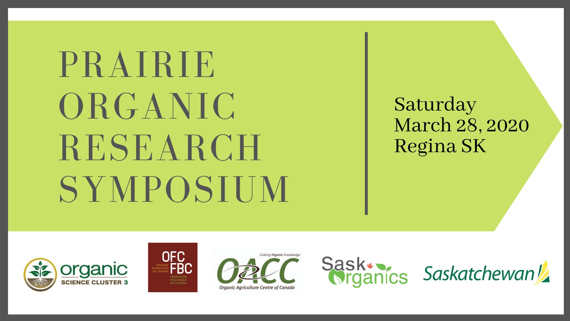 Prairie Organic Research Symposium