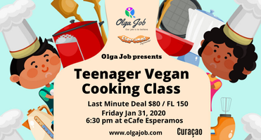 Teenager Vegan Cooking Class
