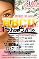 MODELS INC. Presents.. HBCU FASHION BATTLE 2014