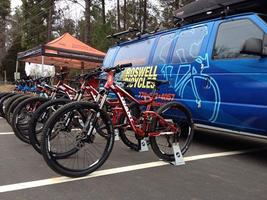 Roswell Bicycles Dirt Demo at Chicopee Woods