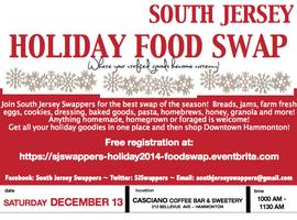 SJ Swappers Holiday 2014 Food Swap