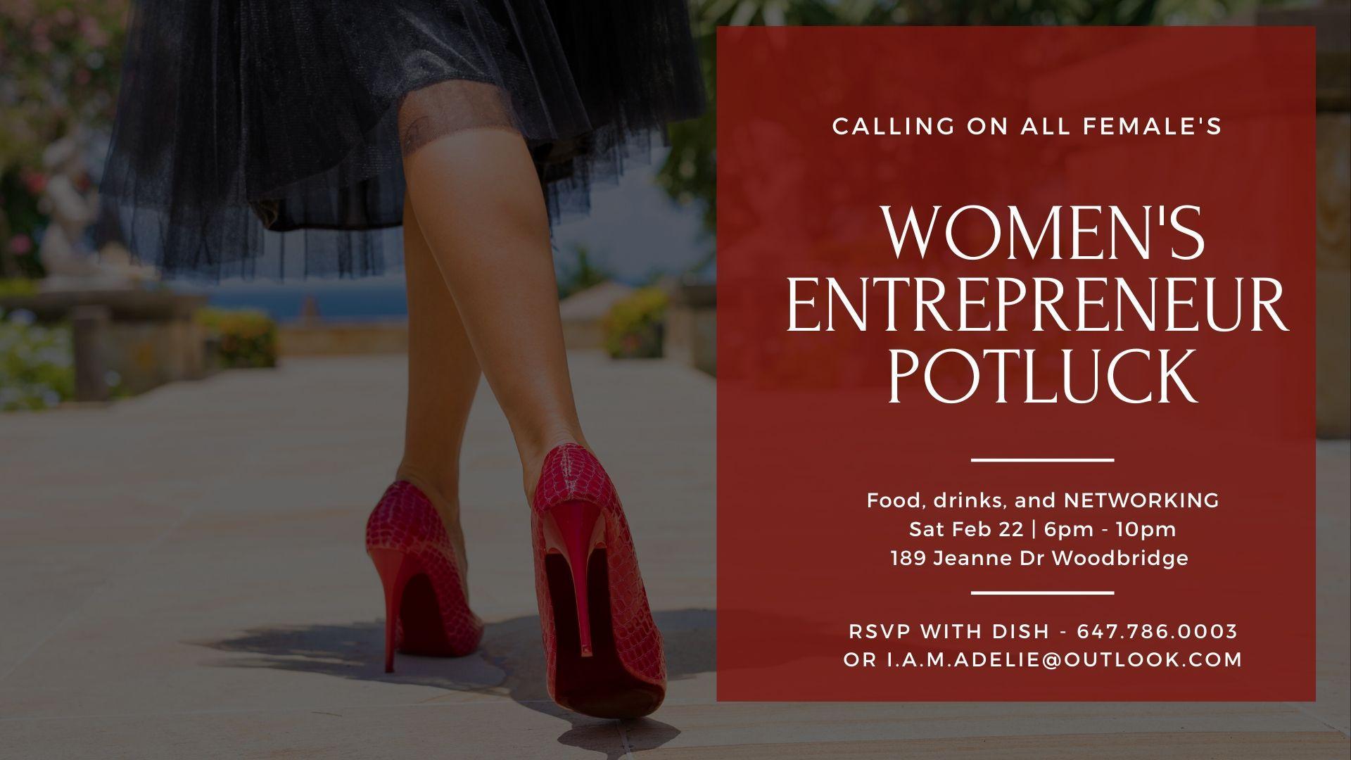 Women's Entrepreneur Potluck - FREE EVENT