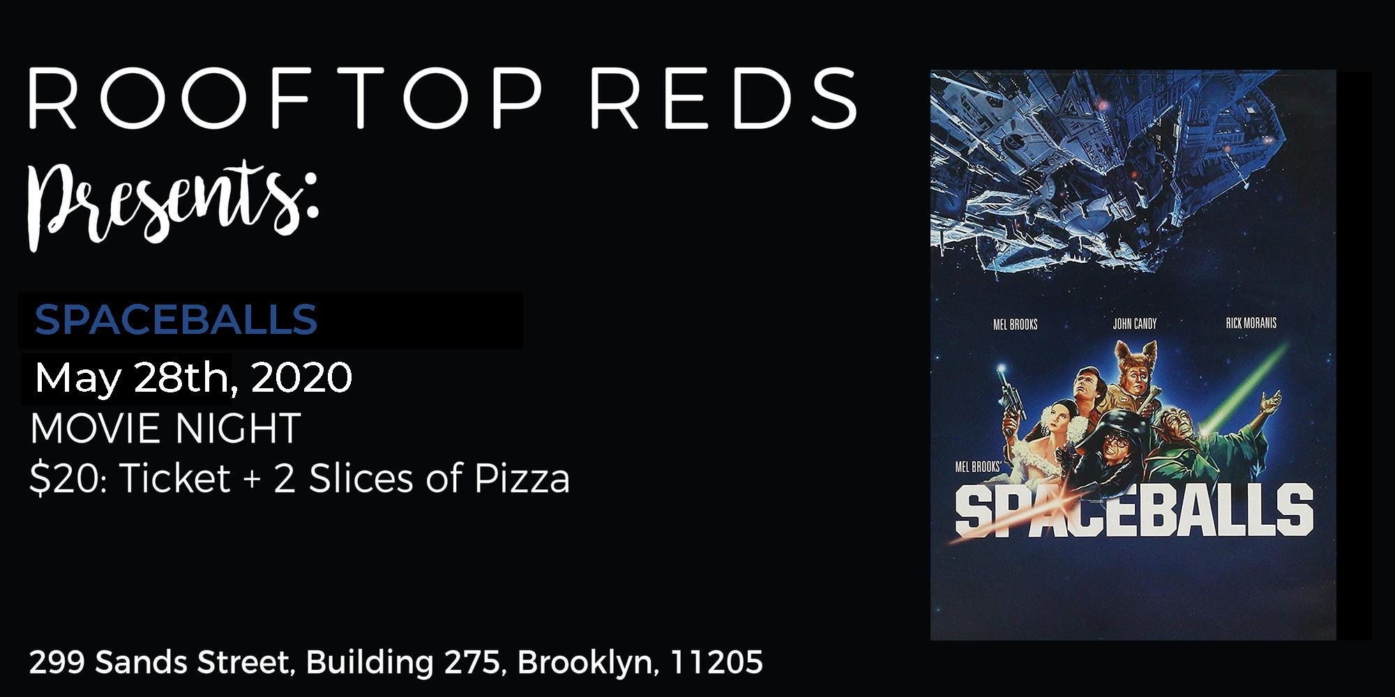 Rooftop Reds Presents: Spaceballs