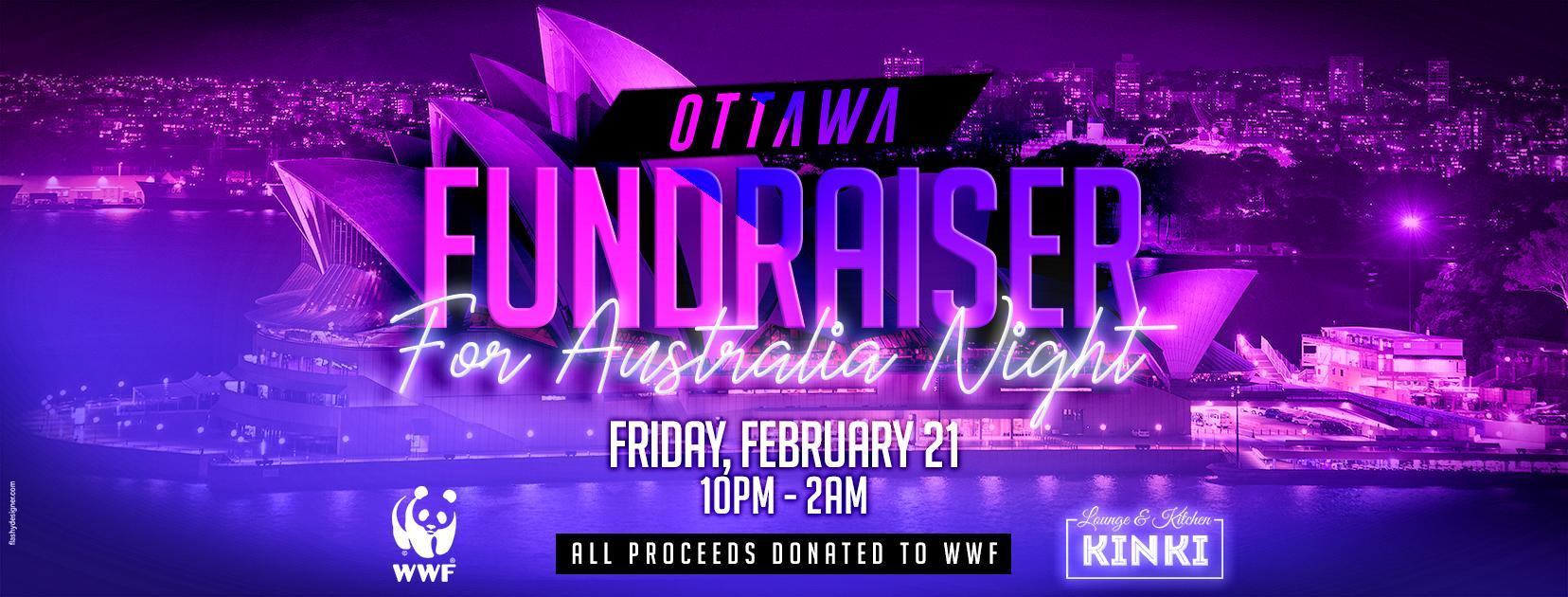 Ottawa Fundraiser for Australia