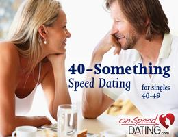 """""""40-Something"""" Speed Dating For Singles 40-49"""