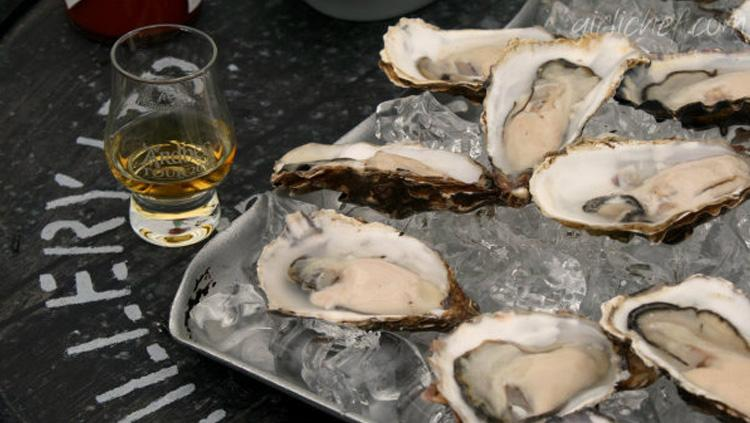 Valentines Day - He Loves Oysters, You Love Scotch. Let's Shuck!