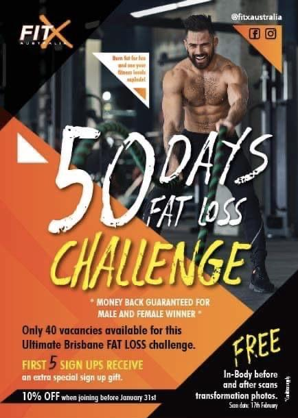 50 Day FatLoss Transformation Challenge (MONEY BACK for 2 winners)
